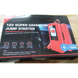 EMERGENCY STARTER NON-BATTERY INSIDE BURST RISK-FREE MAINTAINANCE FREE COURIER DELIVERY OK FCC/CE/ROHS CERTIFIED