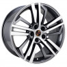 18 inch Q5 2017 8M15AD-1244 : 尺寸:18X8.5, PCD:5X112B, ET:+35, CB:66.45, FINISH:GUN METAL MACHINED FACE/RIM
