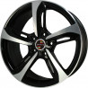 18 inch RS6 8M55AD-5453 : 尺寸:18X8.0, PCD:5X112B, ET:+35, CB:66.45, FINISH:GLOSS BLACK MACHINED FACE/RIM