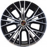 19 inch NEW RS6 9M15AD-5084 : 尺寸:19X8.5, PCD:5X112B, ET:+45, CB:66.45, FINISH:GLOSS BLACK MACHINED FACE/RIM