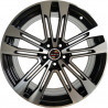 18 inch NEW SQ5 8M15AD-8842 : 尺寸:18X8.0, PCD:5X112B, ET:+44, CB:66.45, FINISH:MATT BLACK MACHINED FACE/RIM