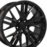 20 inch Camero 5X120 0P15CV-5375 : SIZE:20X8.5, PCD:5X120, ET:+35, CB:67.1, FINISH:GLOSS BLACK PAINTED