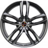 20 inch T5 VAN, 0M15AD-1196 : 尺寸:20X9.0, PCD:5X120, ET:+45, CB:65.1, FINISH:GLOSS BLACK MACHINED FACE/RIM