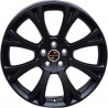 19 inch Jaguar XJ 9P85JG-8222 : 尺寸:19X8.5, PCD:5X108C, ET:+40, CB:63.3, FINISH:MATT BLACK PAINTED