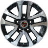 "Toyota 20"" 5X150 Land Cruiser 0M15TY-5118 : SIZE:20X8.5, PCD:5X150F, ET:+60, CB:110, FINISH:GUN METAL MACHINED FACE/RIM"