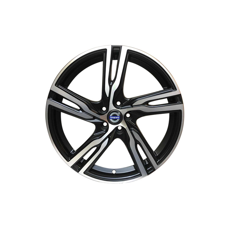 Volvo 18 Inch Ixion Iv Velgen Nieuw V40 V40cc V50 C30 S40 8m55vl 5399 Size 18x80 Et 45 Pcd 5x108c Finish Matt Black Machined Facerim Cb