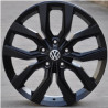 20 inch Toureg 0H15VW-10325 : 尺寸:20X9.0, PCD:5X130B, ET:+57, CB:71.56, FINISH:MATT BLACK PAINTED