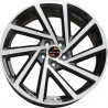 17 inch Golf R 7M15VW-5329 : 尺寸:17X7.5, PCD:5X100B, ET:+42, CB:57.1, FINISH:GLOSS BLACK MACHINED FACE/RIM