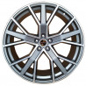 "9M15AD-1332 Audi 19"" 5X112 QS6 S8 +45 +35 : SIZE:19X8.5, PCD:5X112B, ET:+35, CB:66.45, FINISH:GUN METAL MACHINED FACE/RIM"