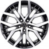 18 inch Santiago GTI 8M15VW-0713 : 尺寸:18X8.0, PCD:5X112B, ET:+42, CB:57.1, FINISH:GLOSS BLACK MACHINED FACE/RIM