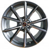 "Audi 19"" 5X112 S4 S6 9M15AD-5477 : SIZE:19X8.5, PCD:5X112B, ET:+29, CB:66.56, FINISH:GUN GREY MACHINED FACE/RIM"