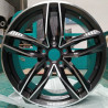"Audi 18"" RS6 8M15AD-1196 R8 V8 V10 420 Facelift Einzelfelge 420601025BD/BB/BF 1167-C19 : SIZE:18X8.0, PCD:5X112B, ET:+35, CB:66.45, FINISH:MATT BLACK PAINTED"