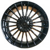 7M15BM-273 BMW 17 inch Alpina Silver Gloass Black Painted : SIZE:17X7.5, PCD:5X120, ET:+35, CB:72.56, FINISH:GLOSS BLACK MACHINED FACE/RIM